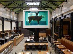 London Restaurant Installs Damien Hirst's Formaldehyde-Preserved 'Cock & Bull' Sculpture