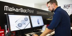 Ideas in the Making: Makerbot 3D Printers