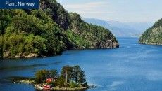 Celebrity Cruises promotes its Norwegian Fjord Experience.