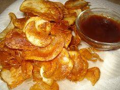 Famous Dave's Homemade Potato Chips - Copycat Recipe