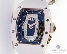 Richard Mille RM037 in white ceramic and red gold
