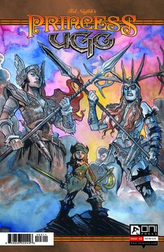 Princess Ugg #3 | (W/A/CA) Ted Naifeh | ONI PRESS INC. | #onipress #onicomics #comics #comicbooks #covers #reading