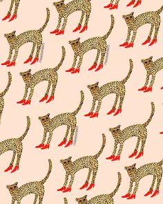 New Cats Art Print Illustration 57 Ideas Pattern Art, Pattern Design, Pattern Drawing, Textures Patterns, Print Patterns, Motifs Textiles, Illustration Art, Illustrations, Motifs Animal