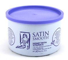 Satin Smooth Wax Honey With Vit E 14 oz Jar 3Pack with Free Nail File -- Want additional info? Click on the image.