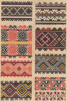 Ukrainian Stitching Art, ukrainian folk embroidery, схеми вишивки, традиційна українська вишивка, українські традиційні орнаменти