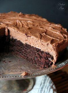 Skillet Chocolate Cake
