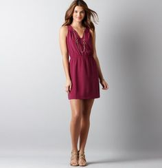Curved Halter Neck Dress...i want i want i want #LOFTsummergetaway