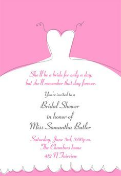 Bridal shower invitation templates microsoft word bridal shower bridal shower invitation templates print or order printed stopboris Images