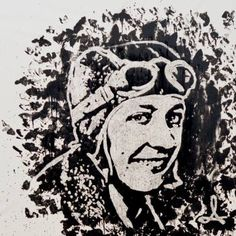 "Saatchi Art Artist Andrzej Lenard; Painting, ""MOTH - tribute Amy Johnson"" #art"