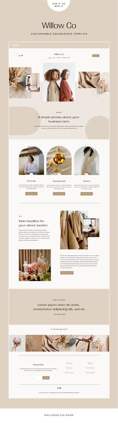 Enter To Win! Our Squarespace Template For Photographers — GoLive: Squarespace Website Templates