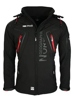 8L5 Geographical Norway Tambour Herren Softshell Jacke Outdoor Rot XL: Amazon.de: Bekleidung
