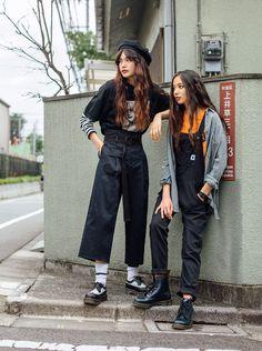 Fascinating Useful Tips: Urban Wear Photoshoot urban fashion plus size forever Fashion Winter Flannels urban fashion for women long sleeve.Urban Fashion For Women Long Sleeve. Fashion Mode, Japan Fashion, Look Fashion, 90s Fashion, Korean Fashion, Girl Fashion, Fashion Outfits, Fashion Ideas, Korean Street Fashion Urban Chic