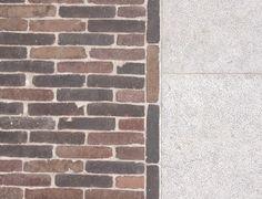 Authentieke kleiklinkers als naadloze overgang van interieur naar exterieur