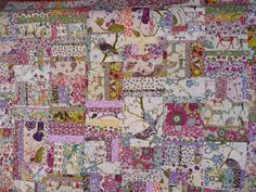 My latest Liberty creation/s were made for these two very special little wild twin babies. Liberty Quilt, Liberty Fabric, Scrappy Quilts, Baby Quilts, Memory Quilts, Quilting Projects, Quilting Designs, Watercolor Quilt, Beginning Quilting