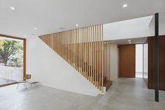 staircase SHED Architecture & Design - Modern Architects Seattle - Capitol Hill House  /  SHED Architecture & Design  /  Modern Interior  /  Detail of Stair