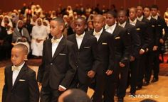 Some young and strong brothers from the Nation of Islam.