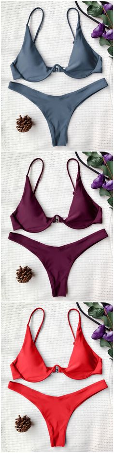 Up to 80% OFF! Push Up Plunge Bathing Suit. #Zaful #Swimwear #Bikinis zaful,zaful outfits,zaful dresses,spring outfits,summer dresses,Valentine's Day,valentines day ideas,cute,casual,fashion,style,bathing suit,swimsuits,one pieces,swimwear,bikini set,bikini,one piece swimwear,beach outfit,swimwear cover ups,high waisted swimsuit,tankini,high cut one piece swimsuit,high waisted swimsuit,swimwear modest,swimsuit modest,cover ups,swimsuit cover up @zaful Extra 10% OFF Code:ZF2017