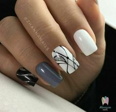 Beauty Nails – Nail Art Design Nagellack # Nagellack # Nageldesign – Nägel, You can collect images you discovered organize them, add your own ideas to your collections and share with other people. Gorgeous Nails, Love Nails, Fun Nails, Style Nails, Beautiful Nail Art, Winter Nails, Spring Nails, Nagel Blog, Latest Nail Art