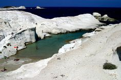 Sarakiniko  Milos Greece