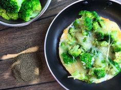 Omlet z brokułami