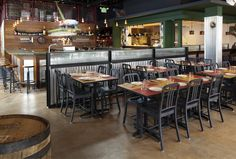 111 Navy chairs by Emeco in Alla Spina, Italian gastro pub in Philadelphia