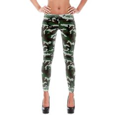 French Central Europe Camo All-Over Leggings