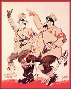 Kimon Marengo, The Progress of Russian and German Cooperation (1939)