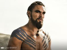 Game of Thrones season 1 Khal Drogo (Jason Momoa) wallpaper
