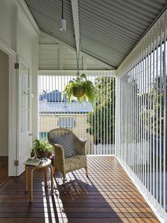 The owners approached us to plan a multi-staged reconfiguration of their Workers Cottage. An ambition was for their young family to have an active engagement… Balcony Grill Design, Small Balcony Design, Balcony Railing Design, Window Grill Design, House Grill Design, House Balcony Design, Front Gate Design, House Gate Design, Bungalow House Design