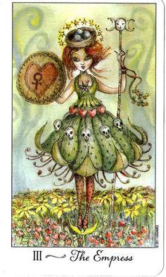Joie de Vivre Tarot - The Empress