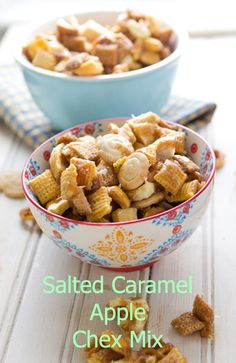 Salted Caramel Apple ChexMix