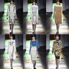 London Fashion Weekend - Desfile Peter Pilotto set/2015