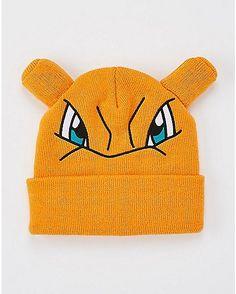 3D Gengar Pokemon Cuff Beanie Hat - Spencer s  92b4d3ae88d3