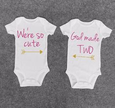 In search of an ideal gift idea? Each of these Home-built and crafting are extremely intelligent!, Find out other great ideas about Homemade their personal gifts. Twin Baby Clothes, Twin Baby Gifts, Twin Baby Boys, Twin Babies, Cute Twins, Cute Babies, Twin Baby Announcements, Twins Announcement, Twin Girls Outfits