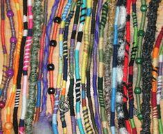 Atebas Hippie Hair Wraps.