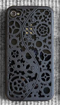Cogs & Gears iPhone 4S Case  on Etsy