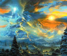lrs Terbush Whisperof Heaven. Terbush, Dale * download painting * Gallerix.ru