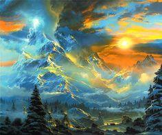 lrs Terbush Whisperof Heaven. Terbush, Dale * download painting * Gallerix.ru
