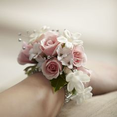 Wrist Corsage -- The FTD® Pure Grace™ Wrist Corsage is the perfect accent piece for any of the ladies in your wedding party. Description from pinterest.com. I searched for this on bing.com/images