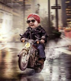 Motorcycle Baby