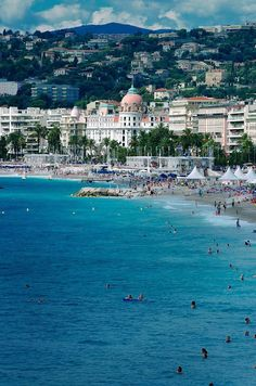 Cannes - France #travel I highly recommend visiting Cannes >> by Saintrop.com, the site of the nirvanesque Cote d'Azur!