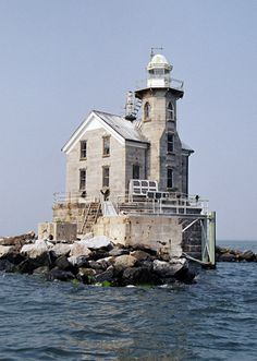 I would love to just travel America's coastlines, visiting lighthouses! --Stratford Shoal Lighthouse Connecticut