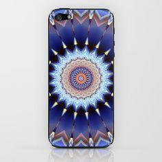 Mandala nice dreams iPhone & iPod Skin by Christine baessler - $15.00