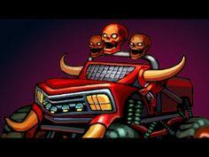 Monster Trucks For Children - Super Kids TV