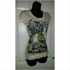 Designer FIRETRAP Ladies Stunning Quriky Summer Holiday Casual T-Shirt Top