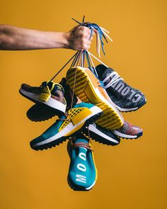 Release Date : November 2017 Adidas x Pharrell Williams HU NMD_TR Credit : Rezet Store Source by nealjoup photography Latest Sneakers, Sneakers Fashion, Fashion Shoes, Shoes Sneakers, Fashion Outfits, Pharrell Williams, Clothing Photography, Fashion Photography, Shoes Editorial