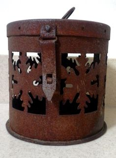 Rustic Vintage Candle Holder, Rustic Lanterns, Outdoor Lanterns, Wedding Lantern, Rustic Wedding, Outdoor Lighting, Candle Holders, Lanterns by Lalecreations on Etsy