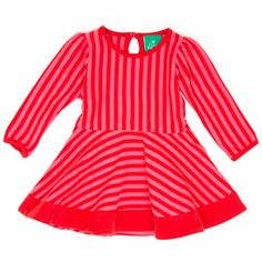 Red & Pink Stripes Forever, Fair Trade baby/children clothing. So sweet!