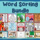 Looking for Word Study ideas for a literacy center? This bundle contains 14 word sorting activities for the following spelling/phonics skills: -R-c...
