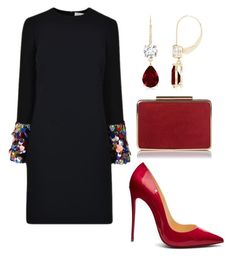 """""""chics"""" by mchlap on Polyvore featuring Victoria Beckham and Christian Louboutin"""
